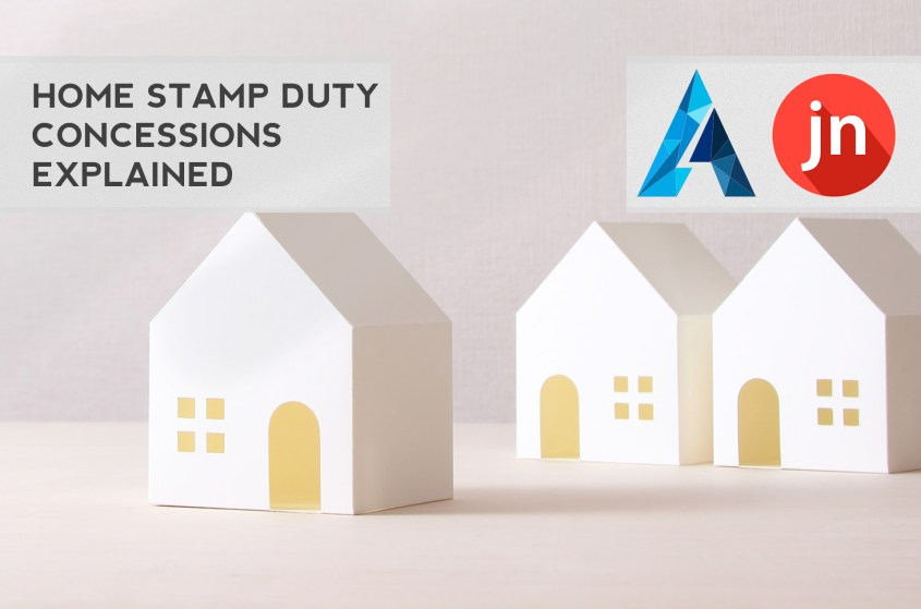 Home Stamp Duty Concessions Explained