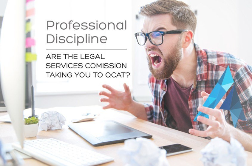 Are the Legal Services Commission (LSC) taking you to QCAT?