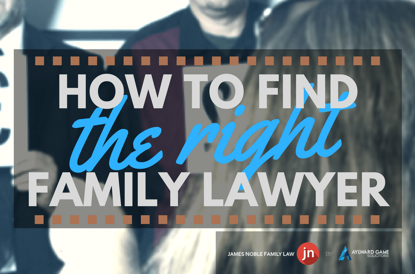 How To Find The Right Family Lawyer