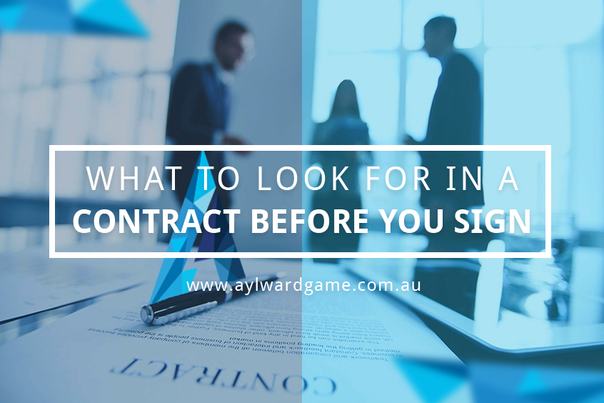 What to look for in a property contract before you sign