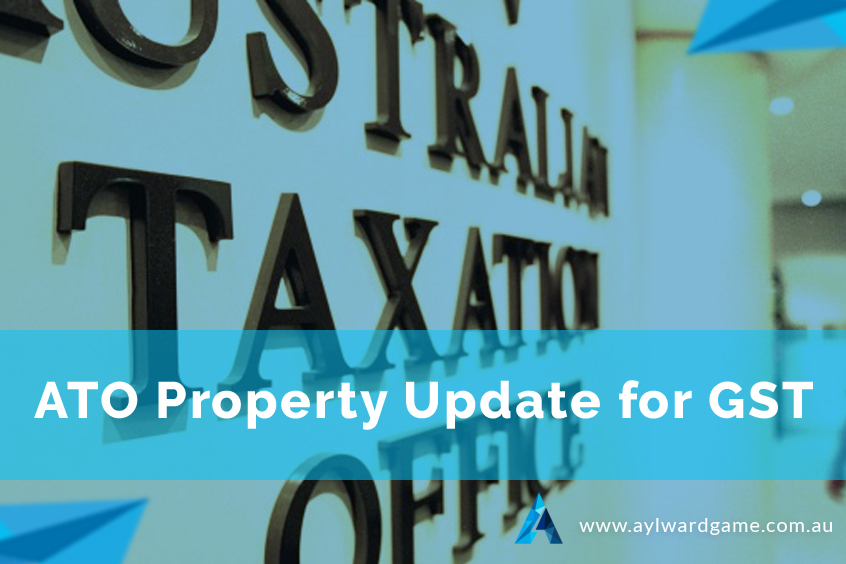 ATO Property Update For GST
