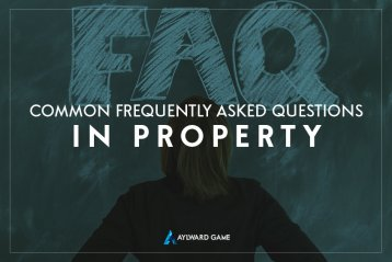 Common Frequently Asked Questions in Property