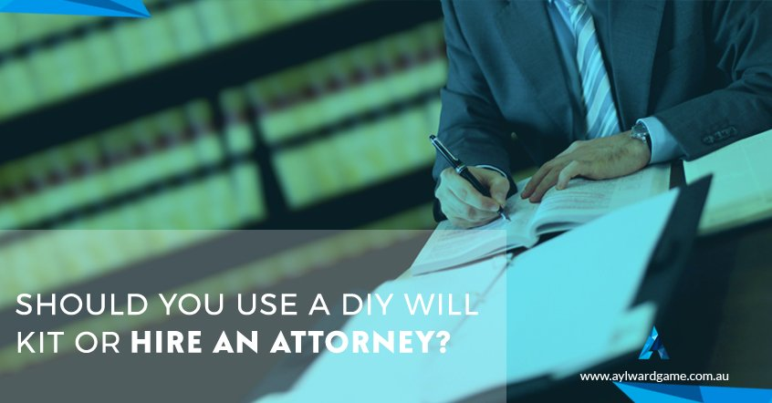 Should You Use a DIY Will Kit or Hire An Attorney?