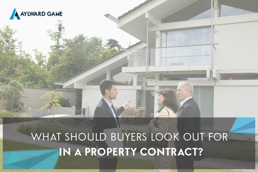 What Should Buyers Look Out For In a Property Contract?
