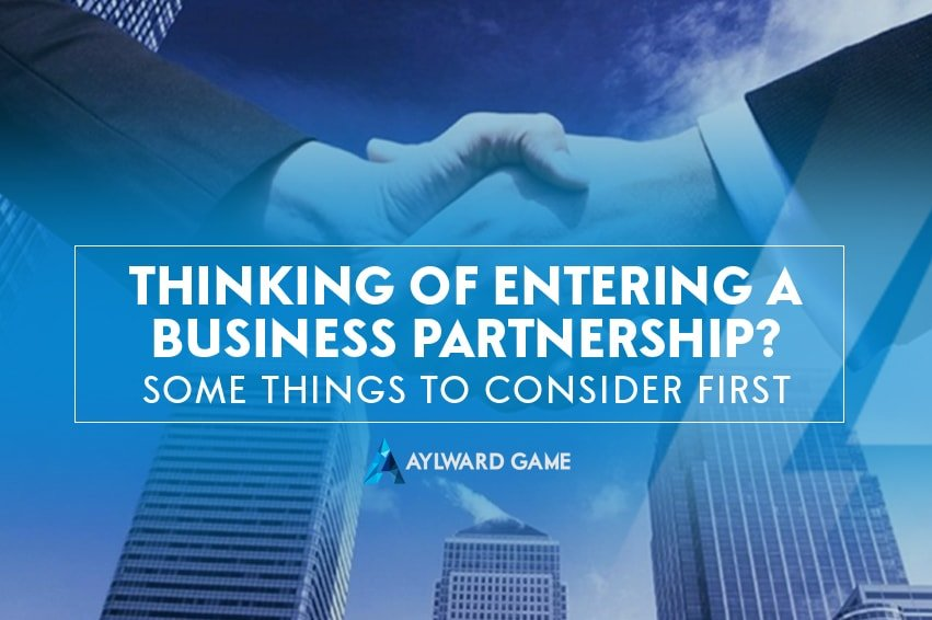 Thinking of Entering a Business Partnership Agreement? Consider This First