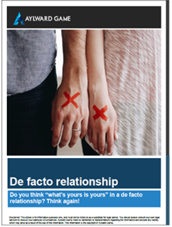 de facto ebook image