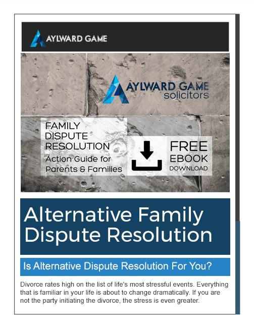 Alternative Family Dispute Resolution