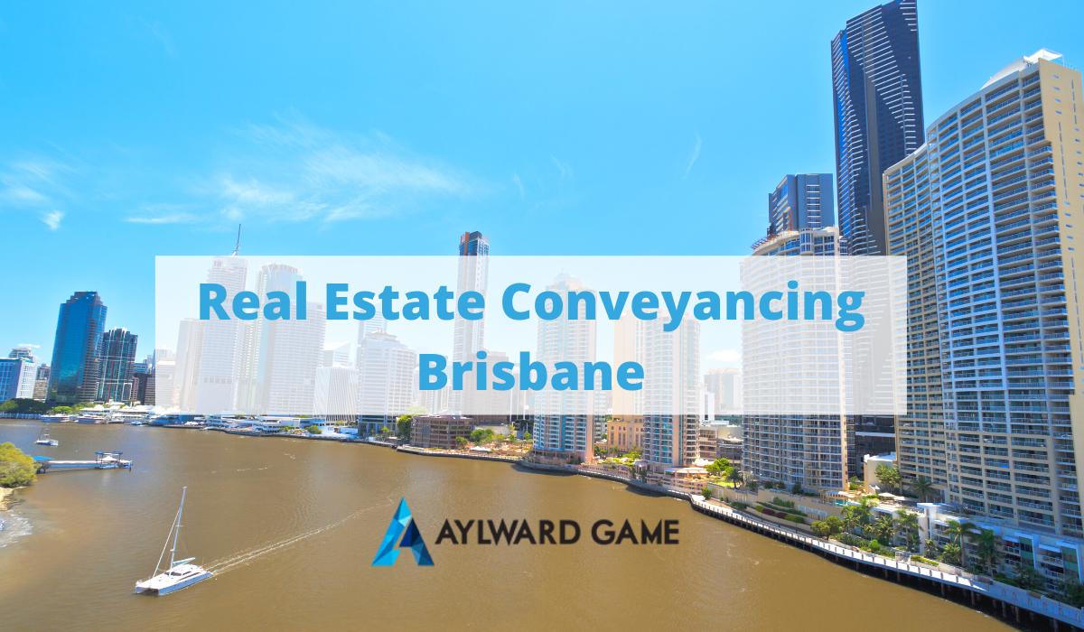 Real Estate Conveyancing Brisbane