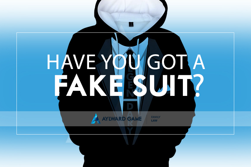 Have You Got A Fake Suit?