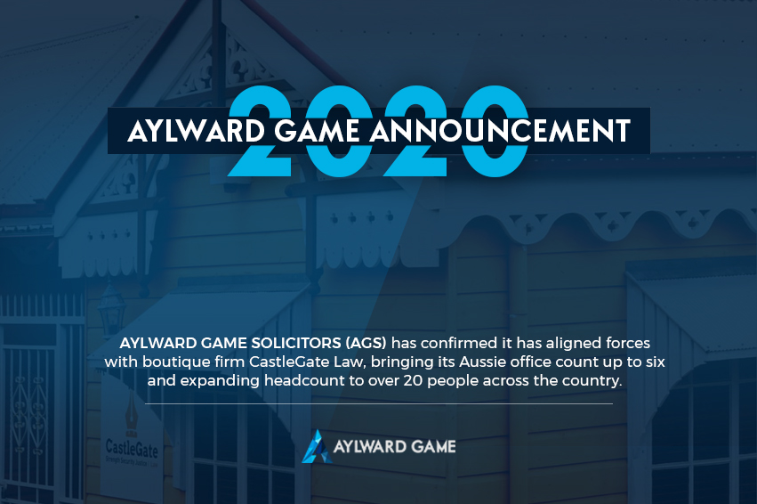 BREAKING NEWS: Aylward Game Announces Alignment Of Forces With CastleGate Law