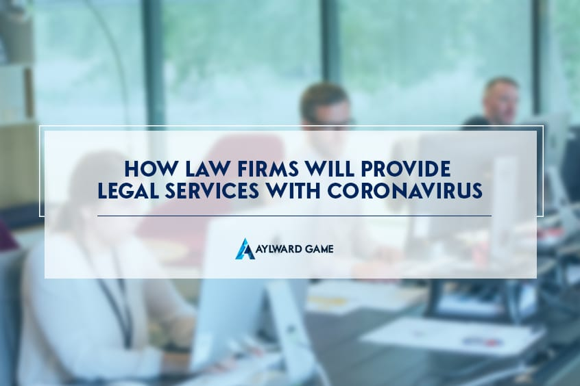 How Law Firms Will Provide Legal Services With Coronavirus