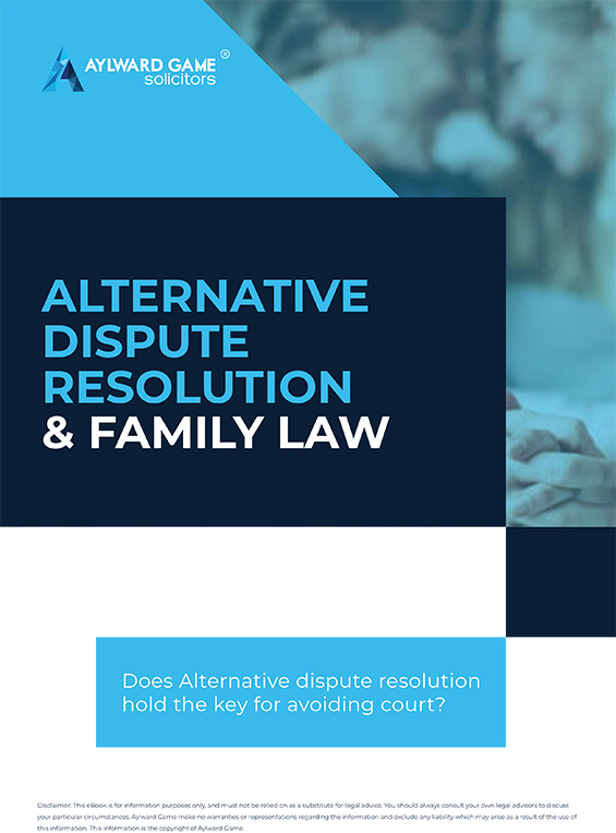 Dispute Resolution & Family Law