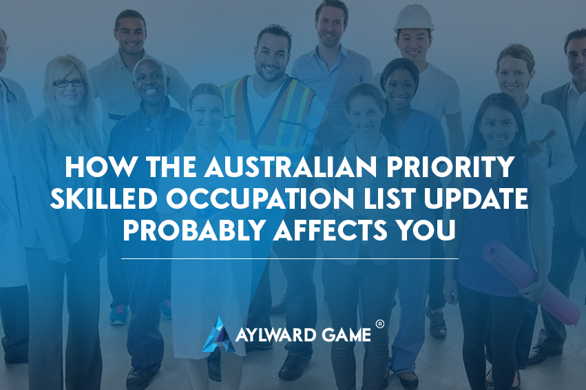 How the Australian Priority Skilled Occupation List Update probably affects you