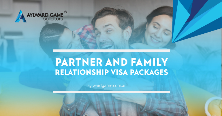 PARTNER AND FAMILY RELATIONSHIP VISA PACKAGES